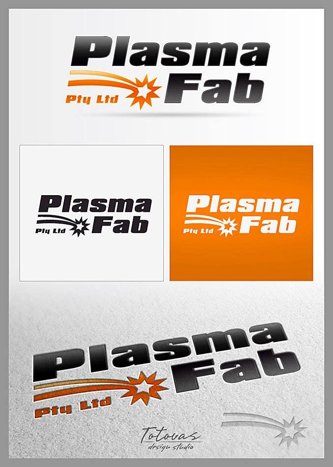Конкурсная заявка №18 для Logo Design for PlasmaFab Pty Ltd