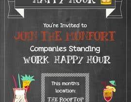danibell tarafından Design a Happy Hour Flyer için no 4