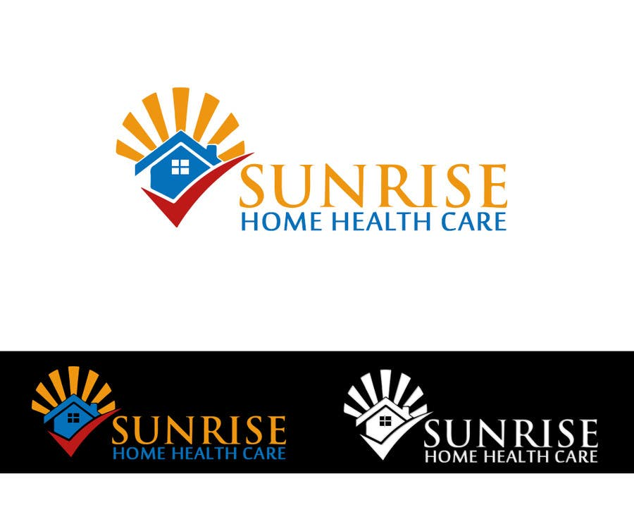 #101 for Sunrise home health care by titif67