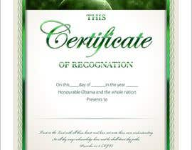 #6 for Design a certificate by naythontio