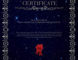 #9 for Design a certificate by emraanmarcer