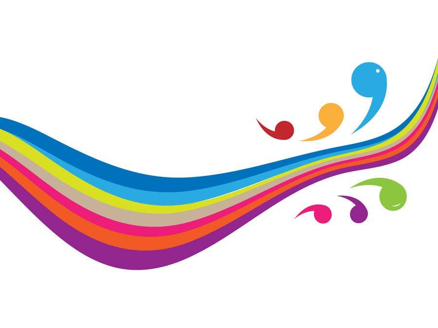 Конкурсная заявка №29 для Simple colour splash/ swoosh