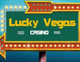 "#117 for ""Lucky Vegas""  Logo for online casino af Code0Boy"