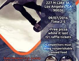 Nro 9 kilpailuun Need A flyer Done For  Event käyttäjältä motoko09