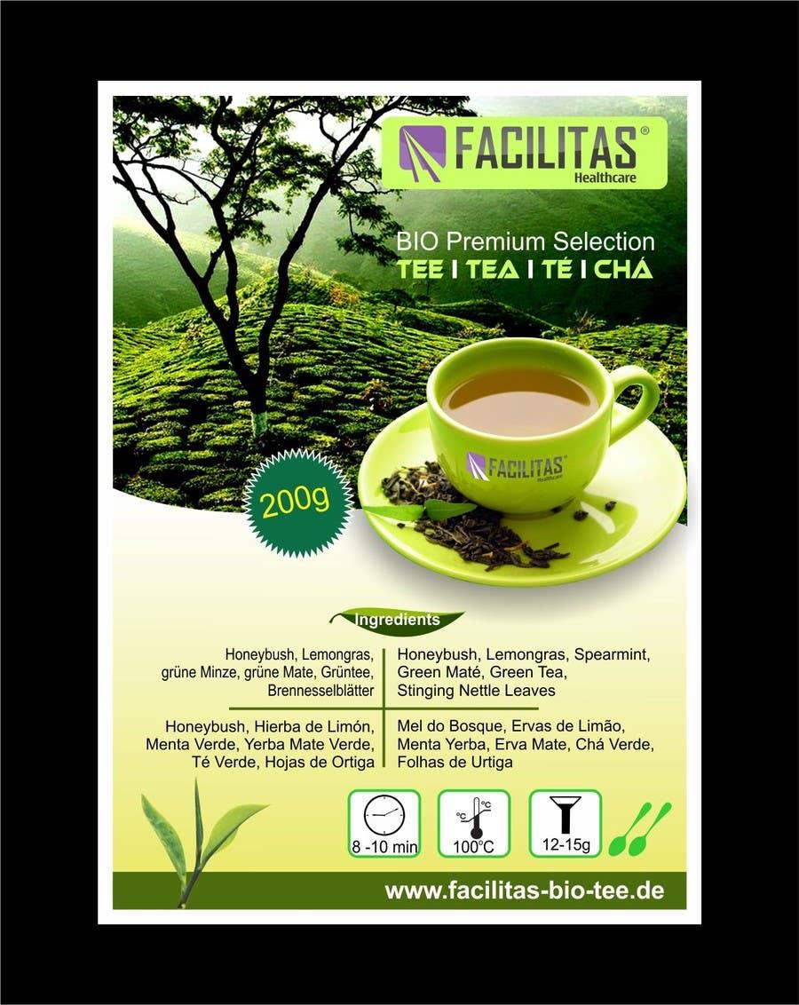 Proposition n°5 du concours Tea Label Design