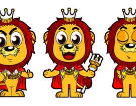 #20 para flat mascot (Lion) for my company por satherghoees1