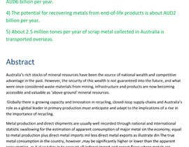 gurjeetsingh344 tarafından Writing 'news' articles about Metal Recycling in Australia için no 5
