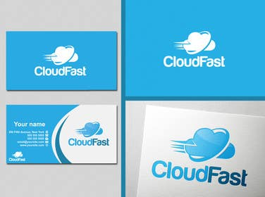 #22 for Design a Logo for 'Cloudfast' - a new web / cloud software services company by SergiuDorin