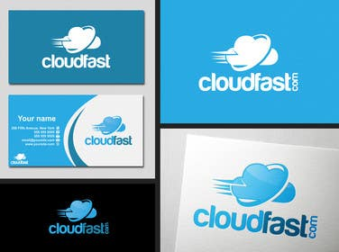 #88 for Design a Logo for 'Cloudfast' - a new web / cloud software services company af SergiuDorin