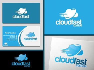 #123 for Design a Logo for 'Cloudfast' - a new web / cloud software services company af SergiuDorin
