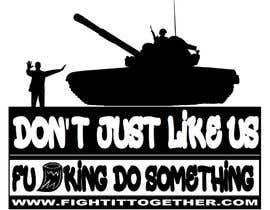 #11 untuk Design a cool T-Shirt with Tank Men and a slogan underneath oleh JHMB