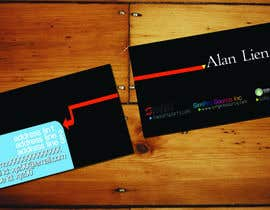 #11 para Business Card Design for Alan Lien por joseunplugged