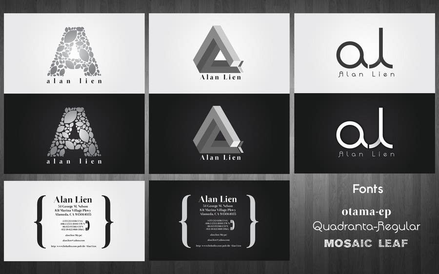Contest Entry #                                        18                                      for                                         Business Card Design for Alan Lien