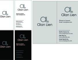 #6 para Business Card Design for Alan Lien por ana9404
