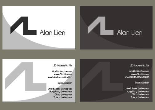Contest Entry #17 for Business Card Design for Alan Lien