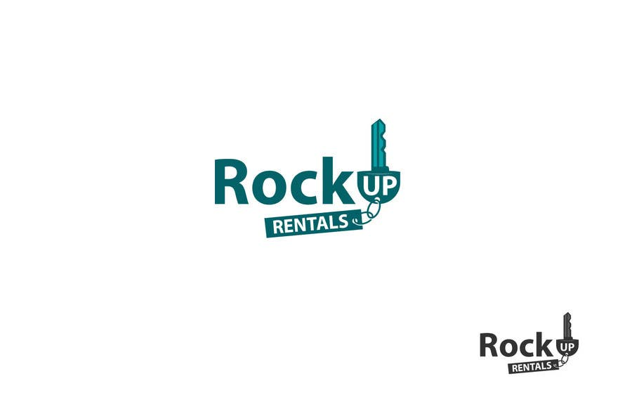 Конкурсная заявка №190 для Logo Design for RockUp Rentals.com.au