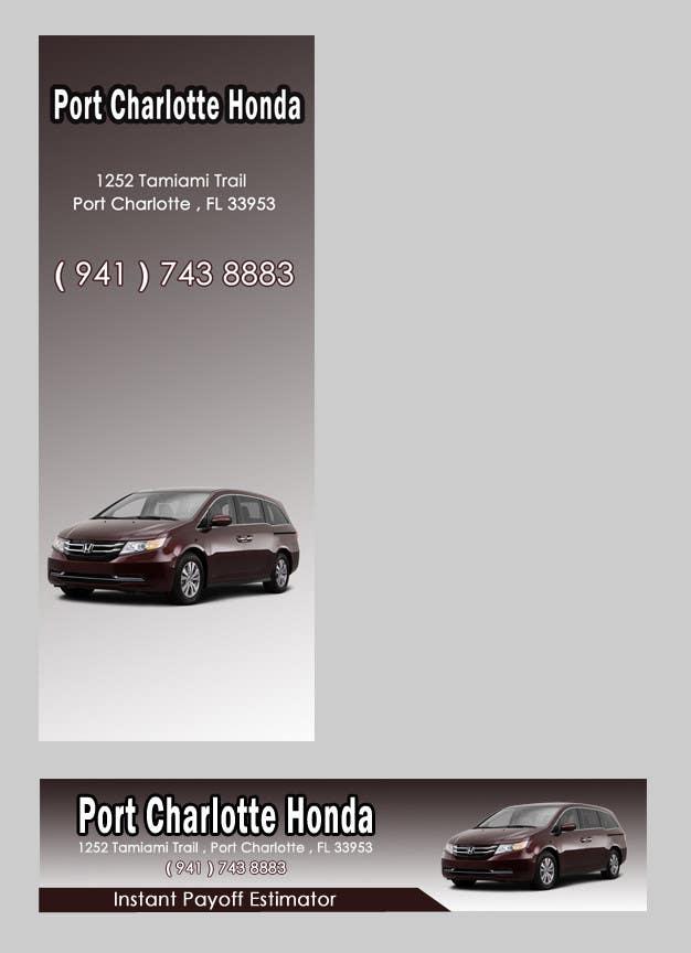 #23 for Design a Banner for Auto Dealer Website by avinash29july