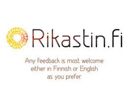 #10 for Logo Design for Rikastin.fi by betteron