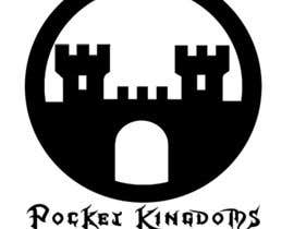 nº 30 pour Pocket Kingdoms: Online Game Logo. par MohamedXyz