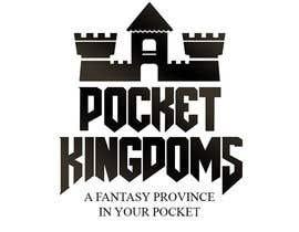 nº 8 pour Pocket Kingdoms: Online Game Logo. par kubocentik