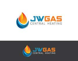 #149 for Design a Logo for www.jwgascentralheating.co.uk af HammyHS