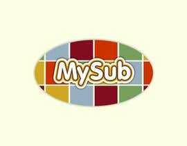 #52 para Logo Design for mySub de astica