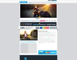 nº 30 pour Design a Website template for fundraising page par mediatronics
