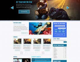 nº 18 pour Design a Website template for fundraising page par designBox16
