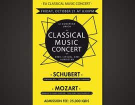 Artkingz tarafından Poster for a Classical Music Concert için no 45