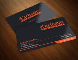 ezesol tarafından Design some Business Cards for my company, color Orange/Black için no 17