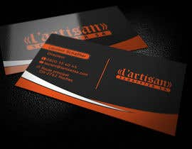 #10 cho Design some Business Cards for my company, color Orange/Black bởi regionmym