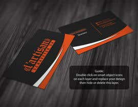 #13 cho Design some Business Cards for my company, color Orange/Black bởi regionmym