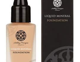 Nro 19 kilpailuun Create a Cosmetic Label for my Liquid Mineral Foundation käyttäjältä fmcreativestudio