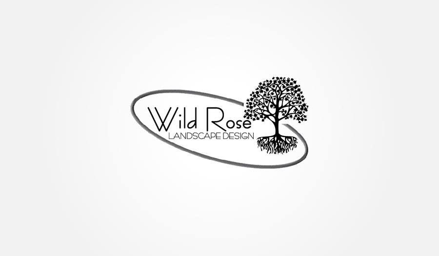 Contest Entry #1 for WildRose Landscaping Logo Design Contest