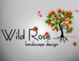 Nro 7 kilpailuun WildRose Landscaping Logo Design Contest käyttäjältä zvercat27