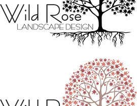 #14 para WildRose Landscaping Logo Design Contest por redlampdesign