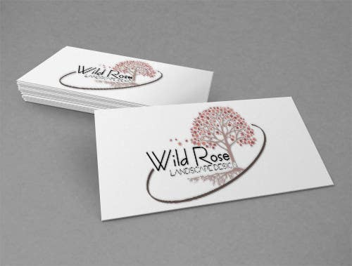 Contest Entry #17 for WildRose Landscaping Logo Design Contest
