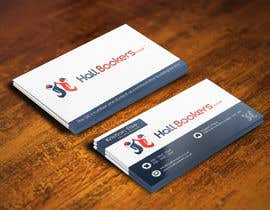 Nro 24 kilpailuun Design some Business Cards for hallbookers.co.uk käyttäjältä pointlesspixels