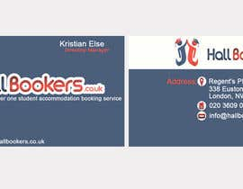 #16 para Design some Business Cards for hallbookers.co.uk por unisunindia