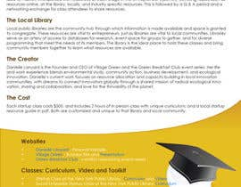 #62 for Design a Proposal brochure for a new class to be offered af Ankur0312
