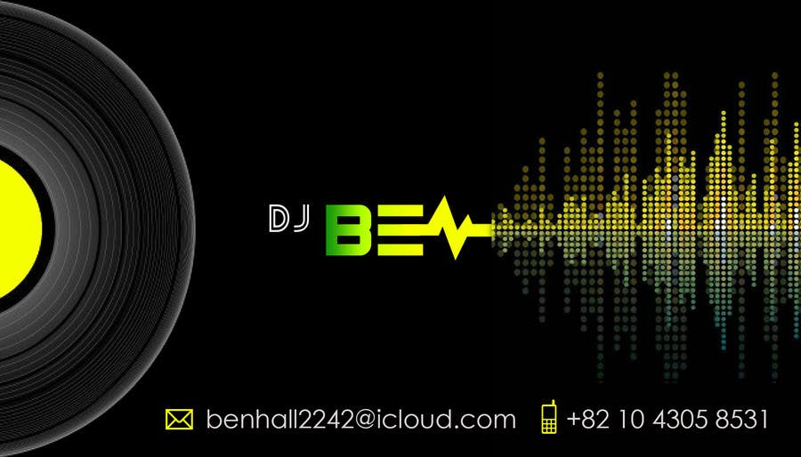 Entry 9 by benson08 for logo and business card for dj freelancer inscrio n 9 do concurso para logo and business card for dj reheart Images