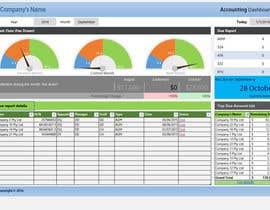 Nro 7 kilpailuun Excel Dashboard Design käyttäjältä nShrestha