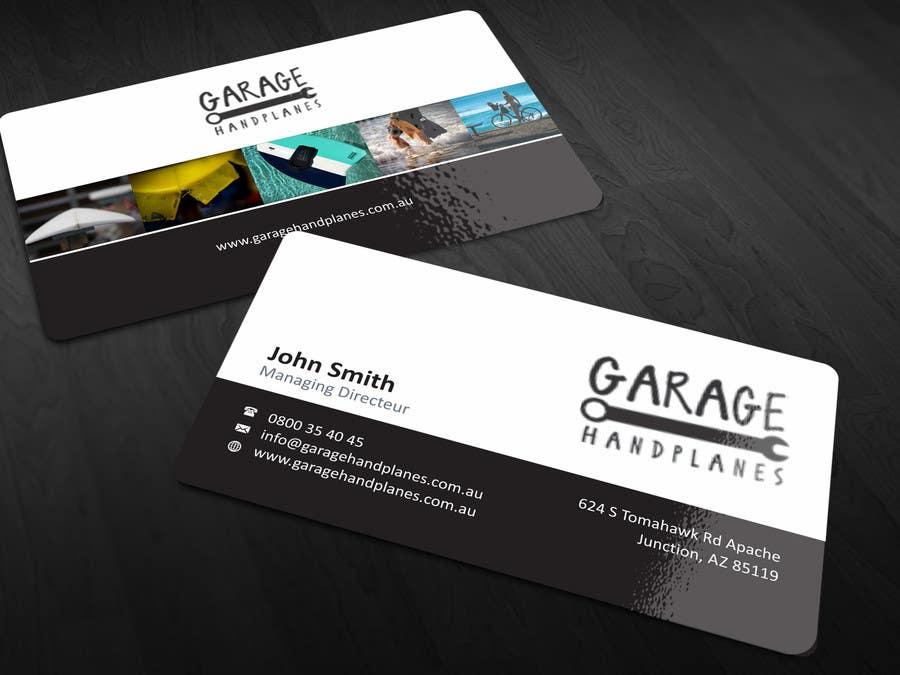 Bài tham dự cuộc thi #14 cho Design some Business Cards for Garage Handplanes