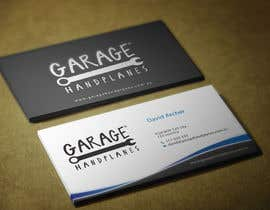 nº 27 pour Design some Business Cards for Garage Handplanes par HammyHS
