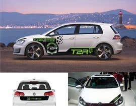 #5 for Sticker concept for Tuned2Race - vehicle wrap design by sumitsingh2590