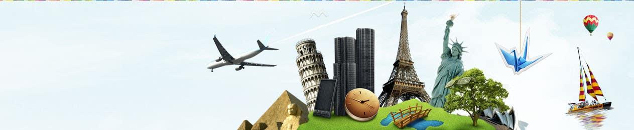 #63 for Travel website header banner redesign by gaf001