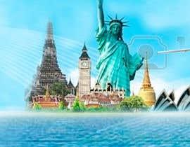 nº 69 pour Travel website header banner redesign par marcia2