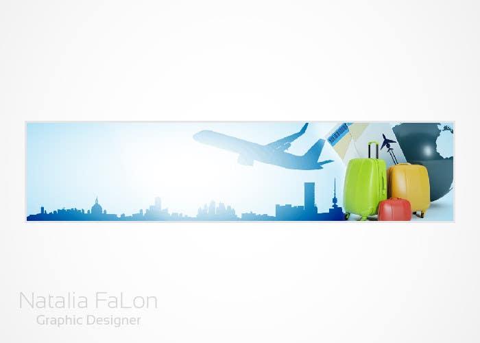 #122 for Travel website header banner redesign by NataliaFaLon