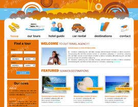 #12 cho LAYOUT FOR  ONLINE TRAVEL AGENCY bởi rshalder90