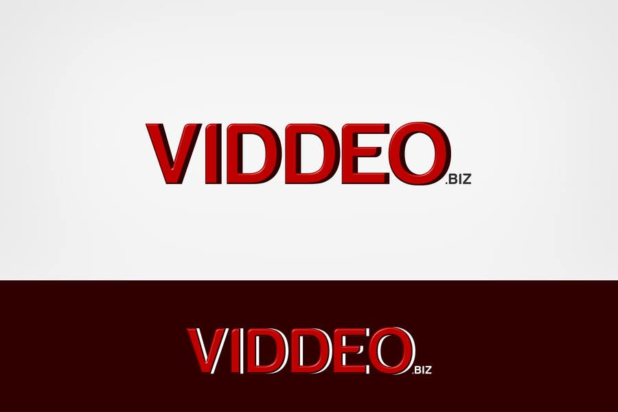 Kilpailutyö #18 kilpailussa Design a Logo for viddeo.biz
